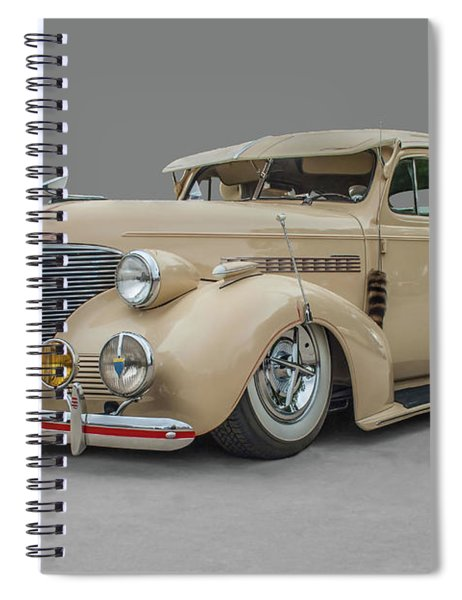 1939 Chevrolet Master Deluxe Spiral Notebook