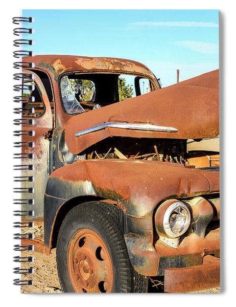 1952 Ford F5 Truck Spiral Notebook