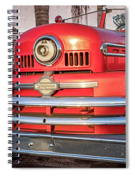 1952 Seagrave Fire Truck  Spiral Notebook