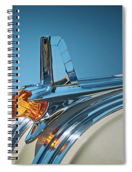 1953 Pontiac Hood Ornament Spiral Notebook