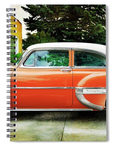 1954 Belair Chevrolet 2 Spiral Notebook