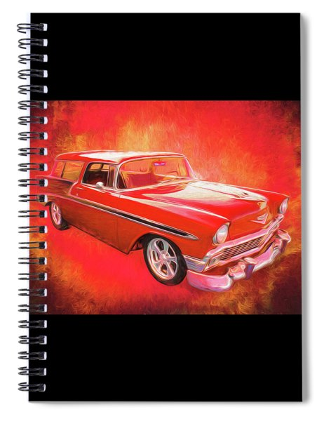 1956 Chevy Nomad Spiral Notebook
