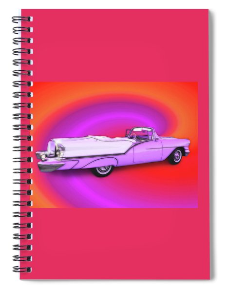 1957 Oldsmobile 98 Starfire Spiral Notebook