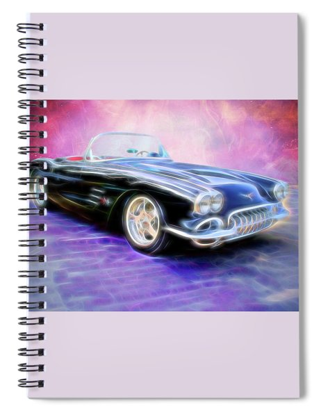 1958 Chevrolet Corvette Spiral Notebook