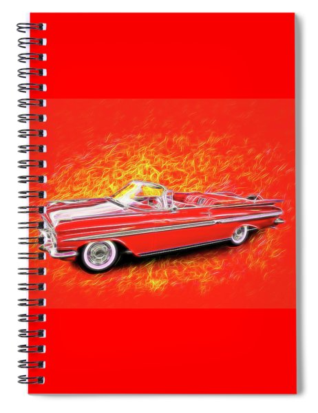 1959 Chevy Convertable Spiral Notebook