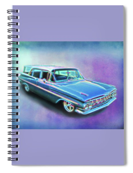 1959 Chevy Wagon Spiral Notebook