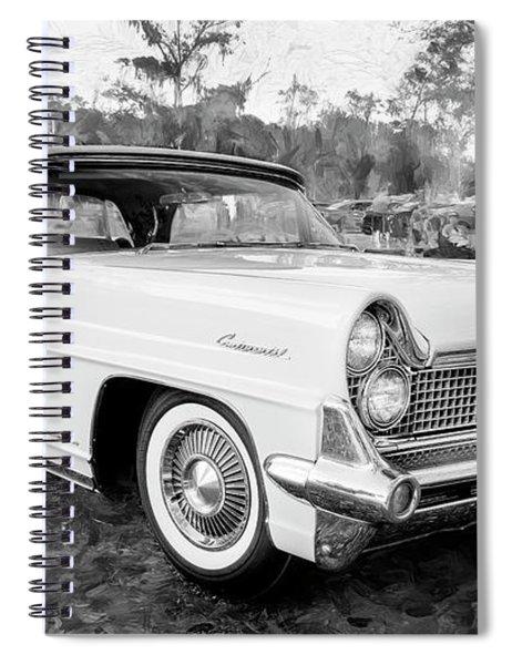 1959 Lincoln Continental Town Car Mk Iv 120 Spiral Notebook