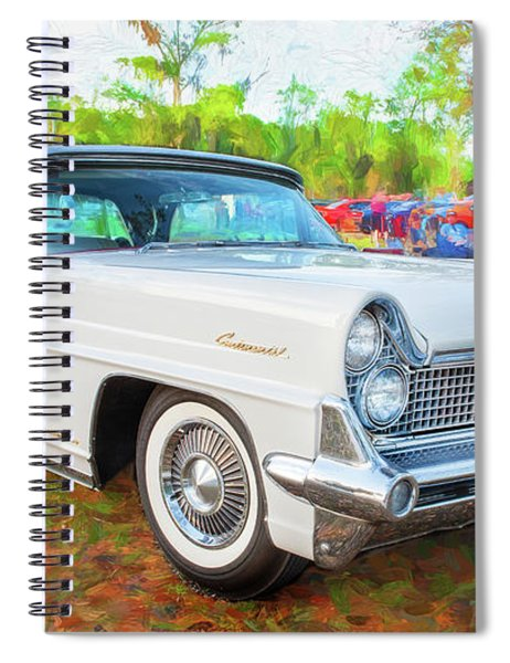1959 Lincoln Continental Town Car Mk Iv 121 Spiral Notebook
