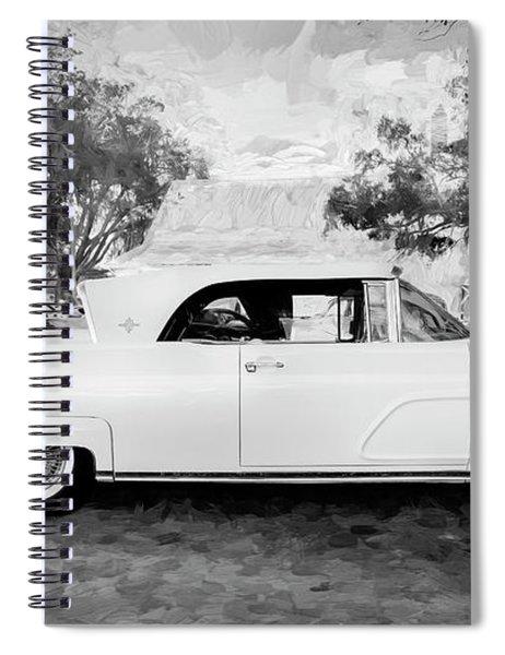 1959 Lincoln Continental Town Car Mk Iv 123 Spiral Notebook