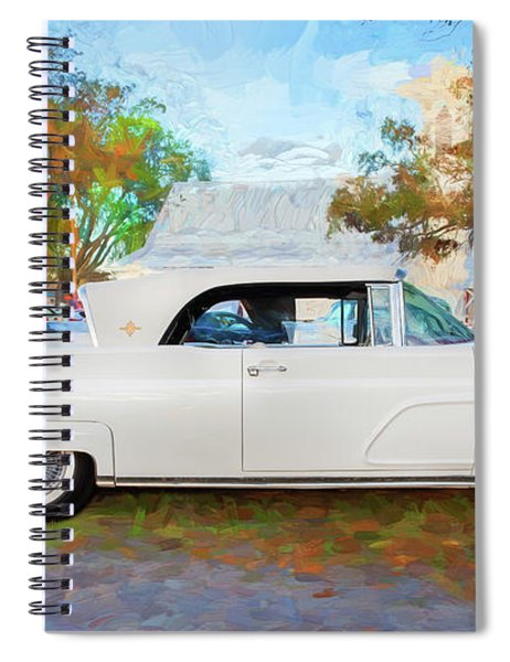 1959 Lincoln Continental Town Car Mk Iv 124 Spiral Notebook