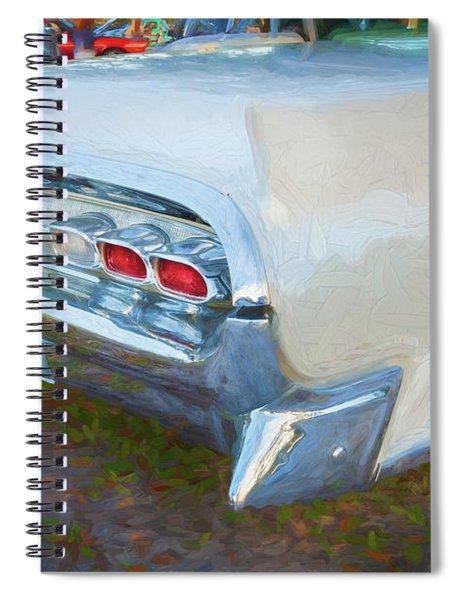 1959 Lincoln Continental Town Car Mk Iv 126 Spiral Notebook