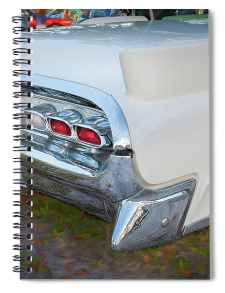 1959 Lincoln Continental Town Car Mk Iv 127 Spiral Notebook