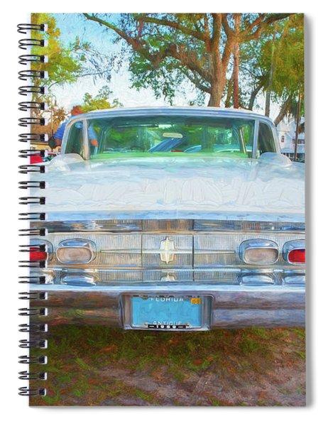 1959 Lincoln Continental Town Car Mk Iv 132 Spiral Notebook