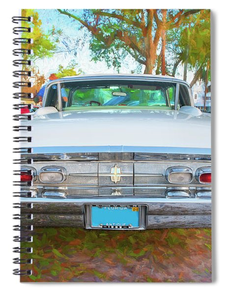 1959 Lincoln Continental Town Car Mk Iv 134 Spiral Notebook