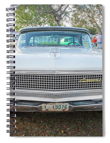 1959 Lincoln Continental Town Car Mk Iv Painted 117 Spiral Notebook