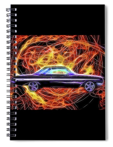 1961 Chevy Impala Spiral Notebook