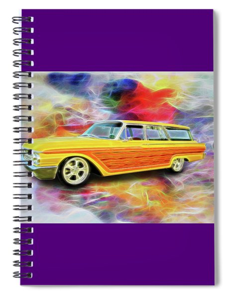 1961 Ford Wagon Spiral Notebook