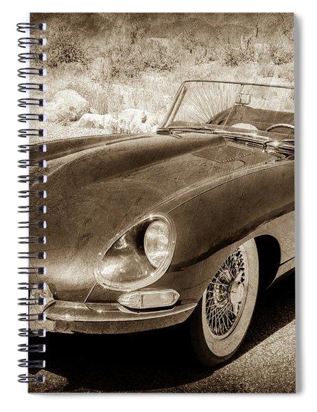 1963 Jaguar Xke Roadster-111scl Spiral Notebook