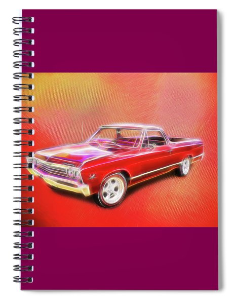 1967 El Camino Spiral Notebook
