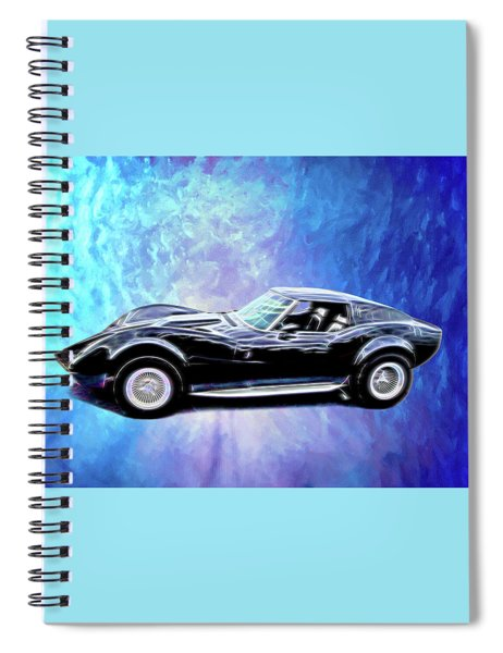 1968 Mako Shark Spiral Notebook