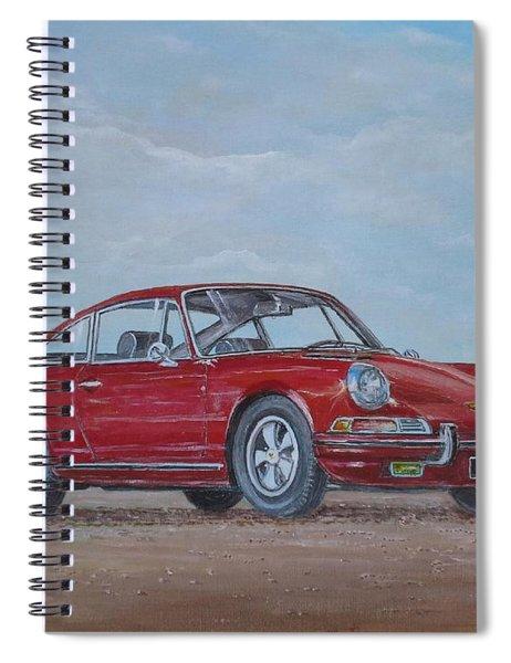 1968 Porsche 911 2.0 S Spiral Notebook