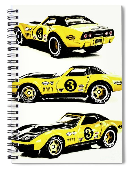 1969 Chevrolet Copo Corvette Spiral Notebook