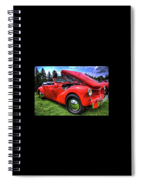 1969 Cord Automobile Spiral Notebook