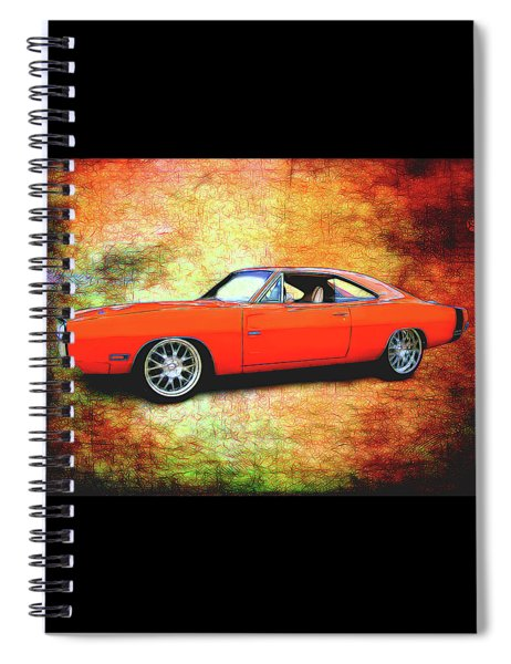 1970 Dodge Charger Spiral Notebook