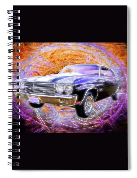 1970 Super Sport Spiral Notebook