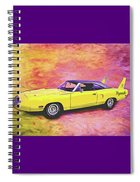 1970 Superbird Spiral Notebook