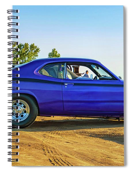 1971 Plymouth Duster 340 Spiral Notebook