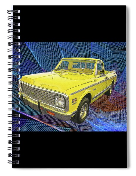 1972 Chevy Pickup Truck Spiral Notebook