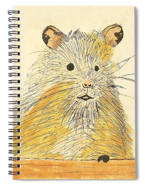 1979 Hamster Sketch Spiral Notebook