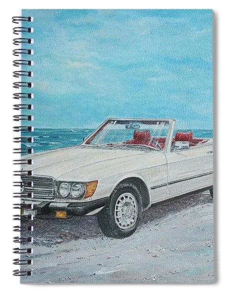 1979 Mercedes 450 Sl Spiral Notebook