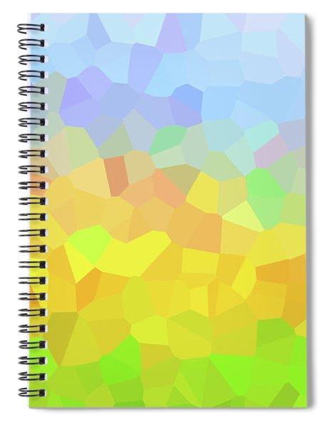 2-10-2009zabcdefghijklmnopqr Spiral Notebook
