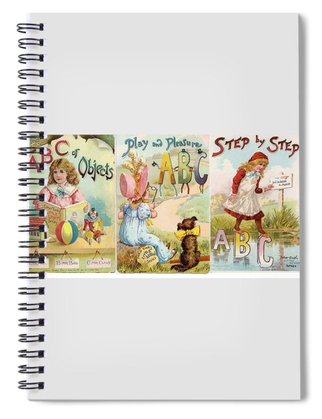 2 Abc Objects Spiral Notebook