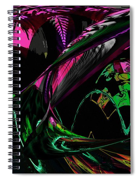 Abstract 1001 Spiral Notebook