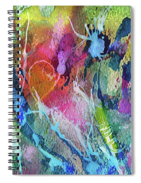 Abstract 224 Spiral Notebook