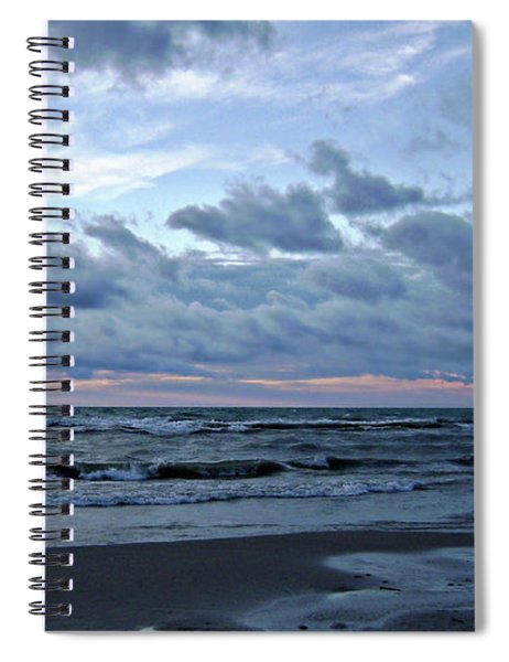 All Beached Up Spiral Notebook