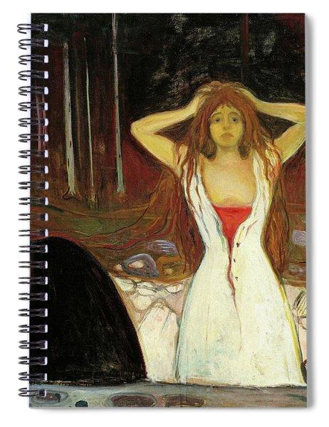 Ashes Spiral Notebook