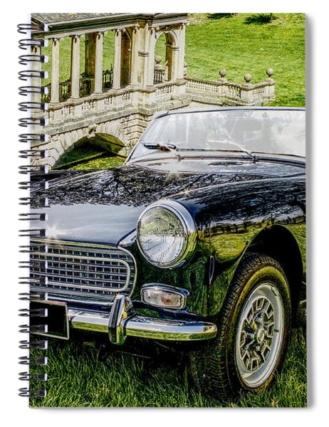 Austin Healey Sprite Spiral Notebook