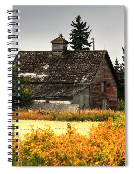 Autumn Barn  Spiral Notebook
