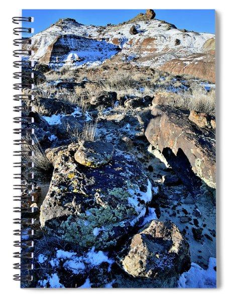 Boulder Field Of Ruby Mountain Spiral Notebook