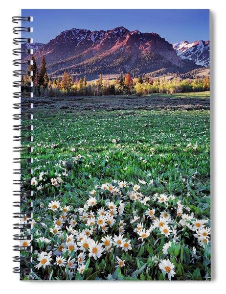 Boulder Mountains Spiral Notebook