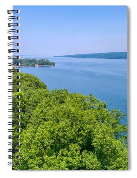 Cayuga Lake  Spiral Notebook