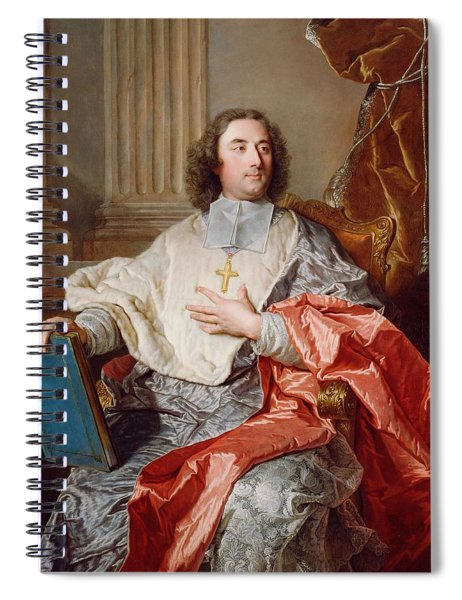 Charles De Saint Albin  Archbishop Of Cambrai  Spiral Notebook