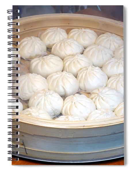 Chinese Steamed Buns Spiral Notebook