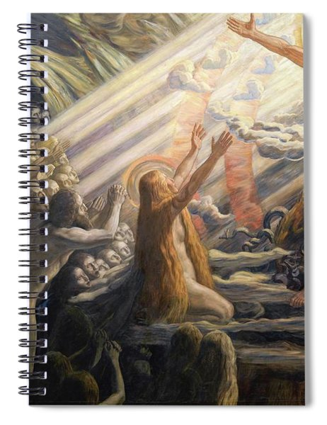 Christ In The Realm Of The Dead Spiral Notebook