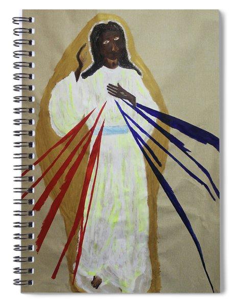 Divine Mercy Spiral Notebook