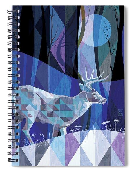 Ghost Walker Spiral Notebook